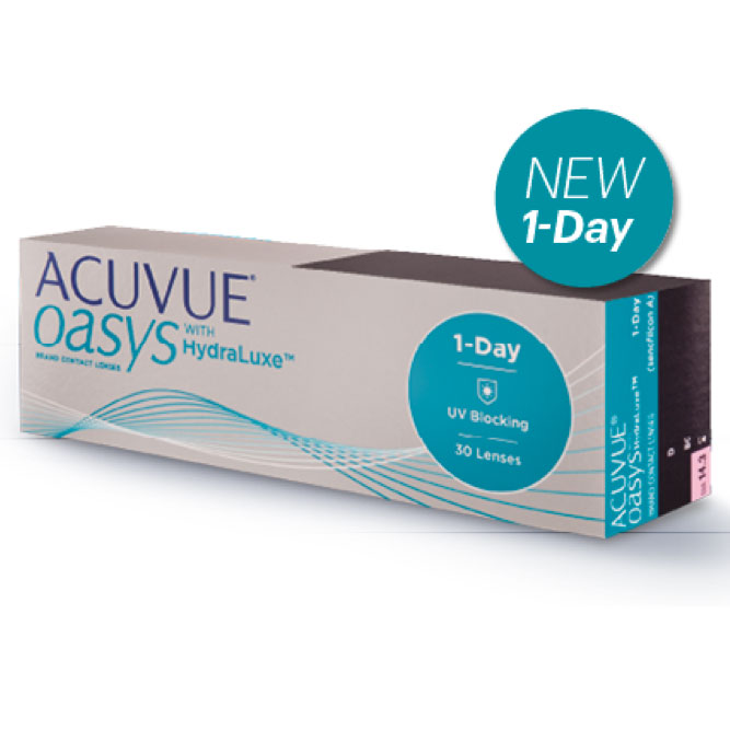 4f6945192003 Acuvue Oasys kontaktlinser 1-day 30 stk pk - Lavista AS